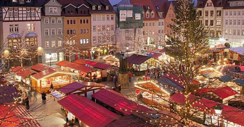 Weihnachtsmarkt, JenaThuringia (Foto: ReneS at flickr)