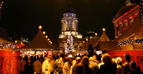 Weihnachtsmarkt, Gendarmenmarkt, Berlin (Foto: Clouha)