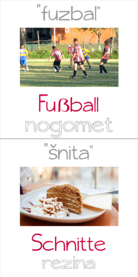 fuzbal in šnita