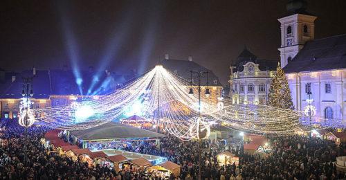 Weihnachtsmarkt, Sibiu (Foto: Andreidragan)