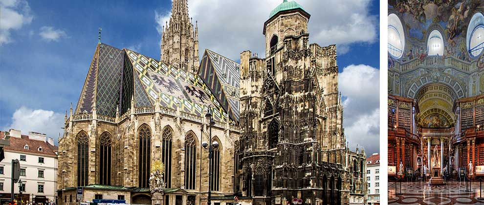Stephansdom in Prunksaal